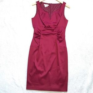 London Times   Fitted Dress